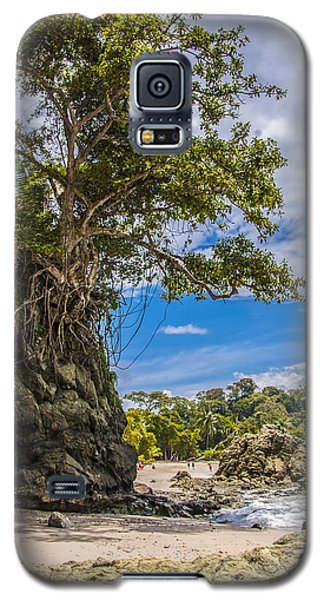 Cliff Diving Tree Galaxy S5 Case