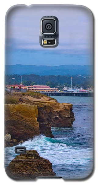 Galaxy S5 Case featuring the photograph Cliff Drive by Tom Kelly