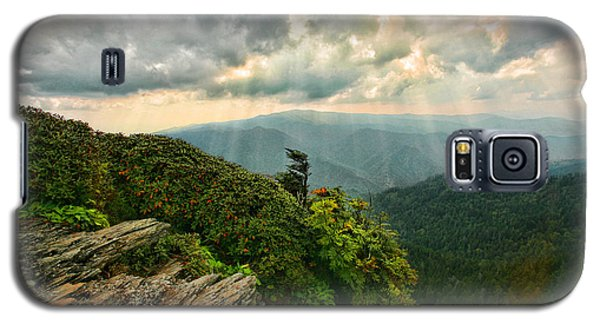 Cliff Tops At Mt. Leconte Gsmnp Galaxy S5 Case