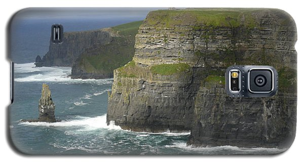Cliffs Of Moher 2 Galaxy S5 Case by Mike McGlothlen