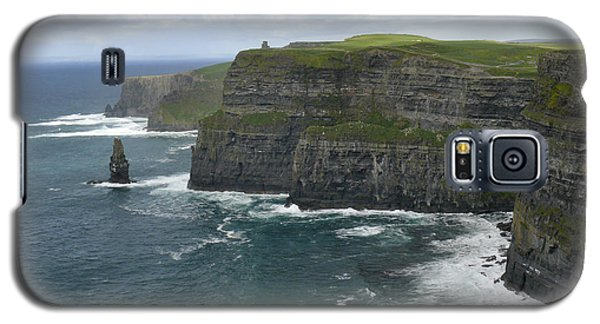 Cliffs Of Moher 3 Galaxy S5 Case by Mike McGlothlen