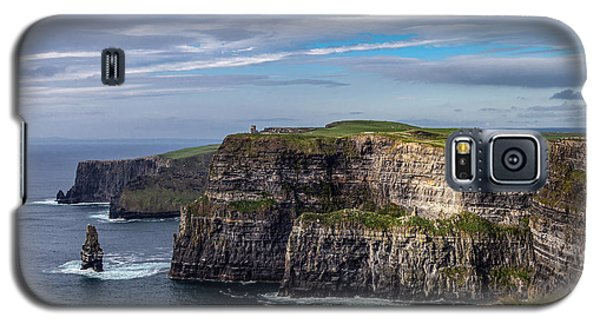 Galaxy S5 Case featuring the photograph Cliffs Of Moher I by Juergen Klust