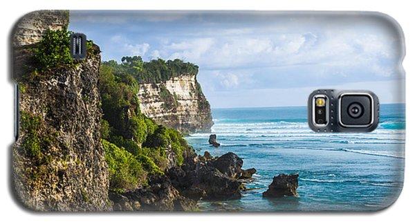 Cliffs On The Indonesian Coastline Galaxy S5 Case