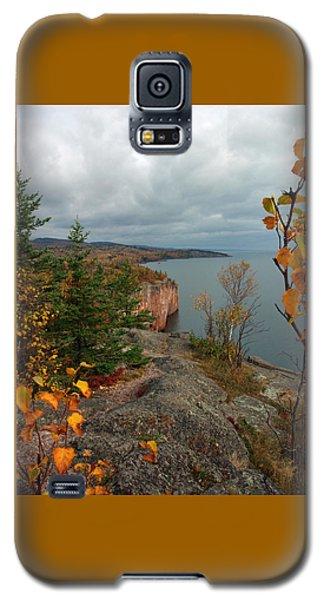 Cliffside Fall Splendor Galaxy S5 Case by James Peterson