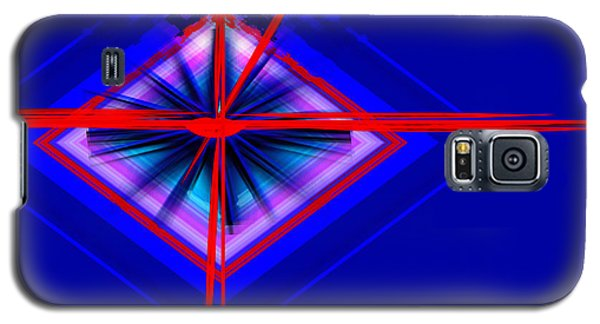 Galaxy S5 Case featuring the painting Climate Change The Clock Is Ticking by Andrew Penman