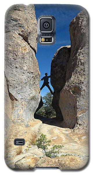 Climber City Of Rocks Galaxy S5 Case