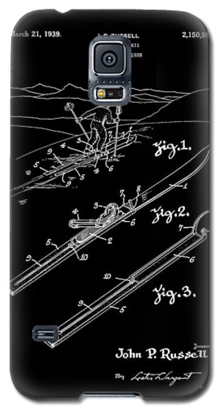 Climber For Skis 1939 Russell Patent Art Galaxy S5 Case