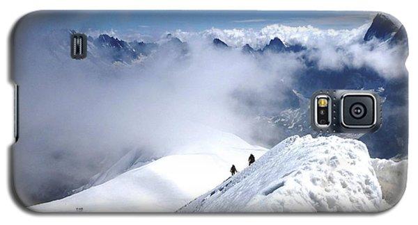 Climbing To The Aiguille Du Midi Galaxy S5 Case