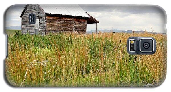 Cline Ranch Outbuilding II Galaxy S5 Case by Lanita Williams