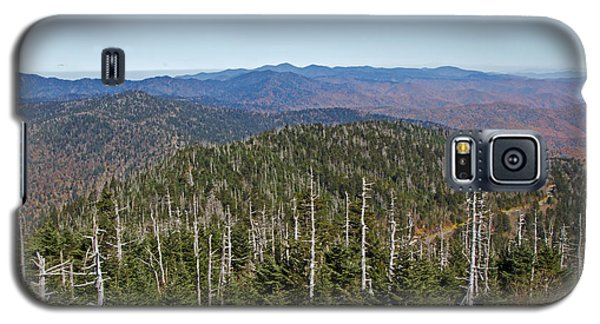 Clingmans Dome Autumn Galaxy S5 Case