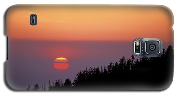 Clingman's Dome Sunset 02 Galaxy S5 Case