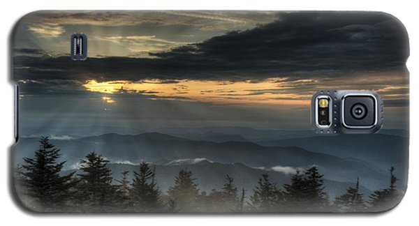 Clingman's Dome Sunset Galaxy S5 Case