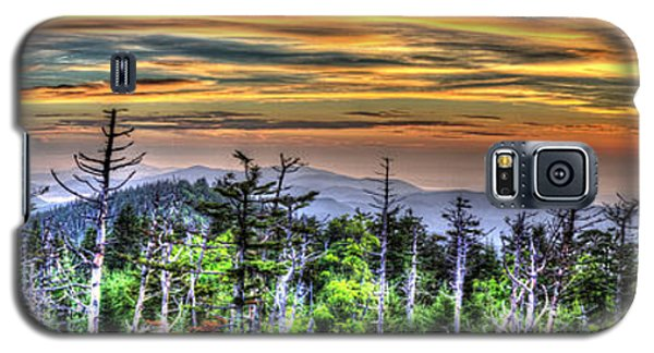 Clingmans Sunset Panoramic Galaxy S5 Case