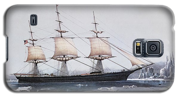 Ice Galaxy S5 Case - Clipper Ship Red Jacket In The Ice Off Cape Horn On Her Passage From Australia To Liverpool by American School