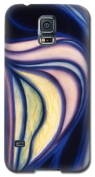 Galaxy S5 Case featuring the pastel Cloak by Susan Will