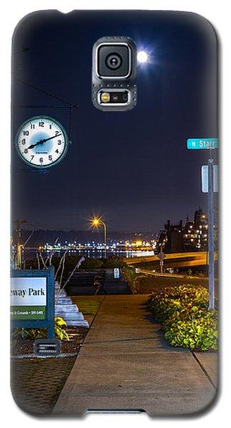 Clock At Gateway Park In Tacoma Wa Galaxy S5 Case