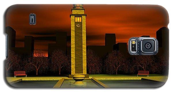 Clock Tower Galaxy S5 Case by John Pangia