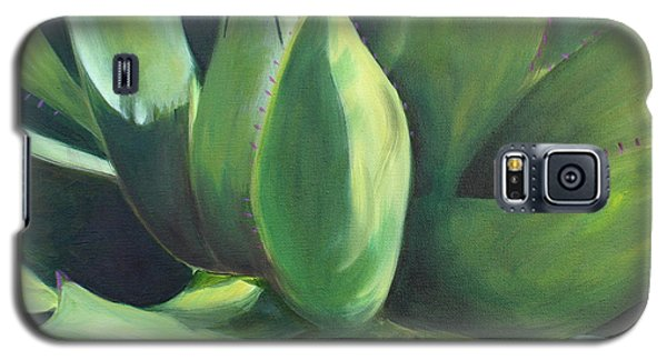 Close Cactus II - Agave Galaxy S5 Case