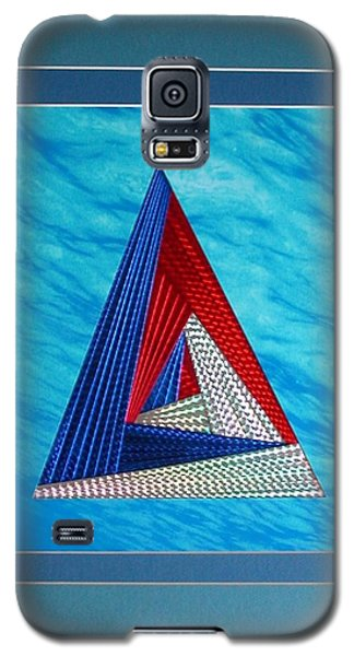 Galaxy S5 Case featuring the mixed media Close Encounter by Ron Davidson