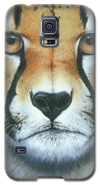 Galaxy S5 Case featuring the painting Close To The Soul by Mike Brown