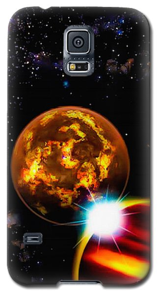 Close Together Far Apart Galaxy S5 Case by Naomi Burgess