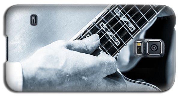 Close Up Of Guitarist Hand Strumming Galaxy S5 Case