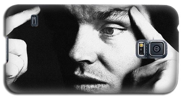 Close Up Of Jack Nicholson Galaxy S5 Case by Jack Robinson
