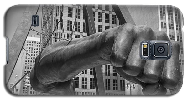 Close Up Of Joe Louis Fist Black And White  Galaxy S5 Case