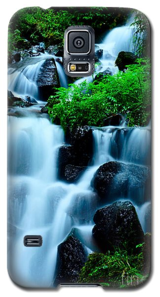 Closeup Of Beautiful Waterfall In Karuizawa Japan Galaxy S5 Case