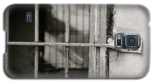 Galaxy S5 Case featuring the photograph Closeup World War II Bunker by Alex King