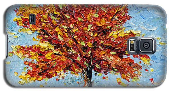 Galaxy S5 Case featuring the painting Clothed With Joy by Meaghan Troup