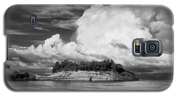 Cloud Boat And Cliffs On Corfu Galaxy S5 Case