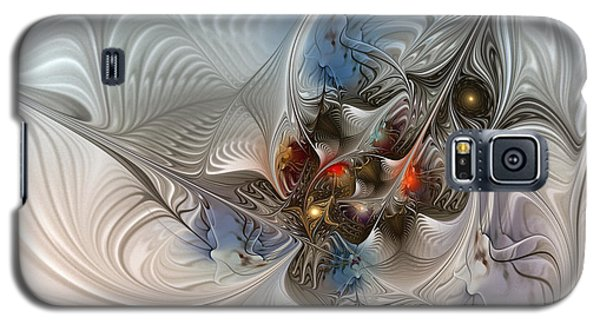 Cloud Cuckoo Land-fractal Art Galaxy S5 Case by Karin Kuhlmann