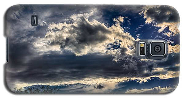 Galaxy S5 Case featuring the photograph Cloud Drama by Mark Myhaver