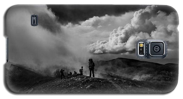 Cloud Factory Bw Galaxy S5 Case