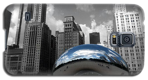 Cloud Gate B-w Chicago Galaxy S5 Case