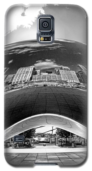 Cloud Gate Under The Bean Black And White Galaxy S5 Case