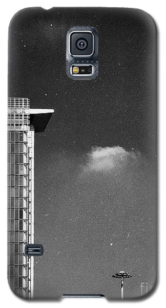 Galaxy S5 Case featuring the photograph Cloud Lamp Building by Silvia Ganora