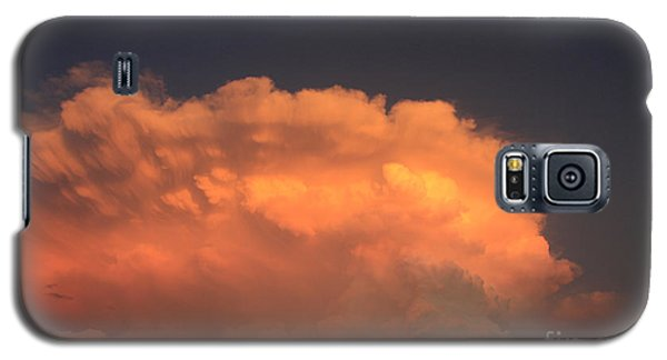 Cloud On Fire Galaxy S5 Case by Jerry Bunger
