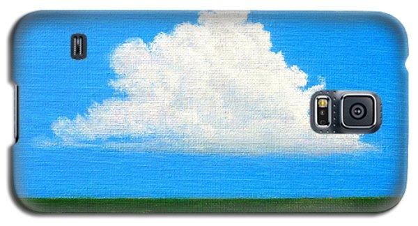 Cloud Over Wetlands Galaxy S5 Case