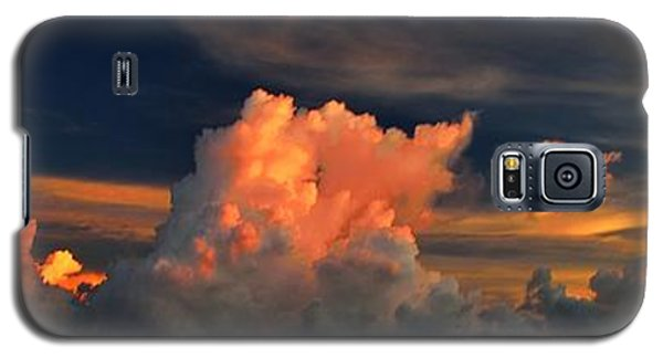 Galaxy S5 Case featuring the photograph Cloud Panorama by Richard Zentner