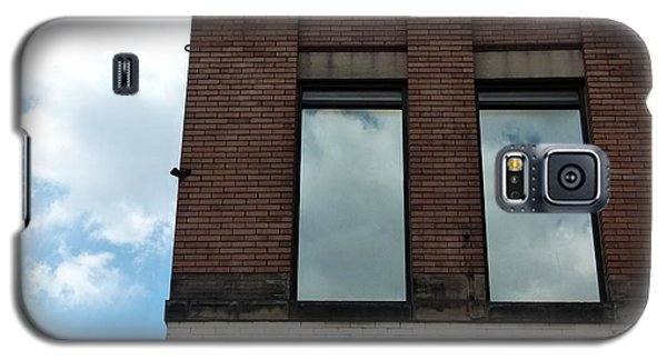 Cloud Reflection On Window Galaxy S5 Case by Jane Ford