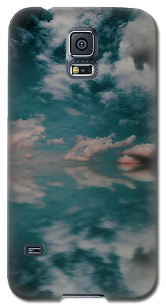 Galaxy S5 Case featuring the photograph Cloud Reflections by John Stuart Webbstock