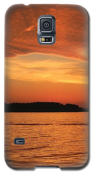 Galaxy S5 Case featuring the photograph Cloud Shadows by Jean Goodwin Brooks