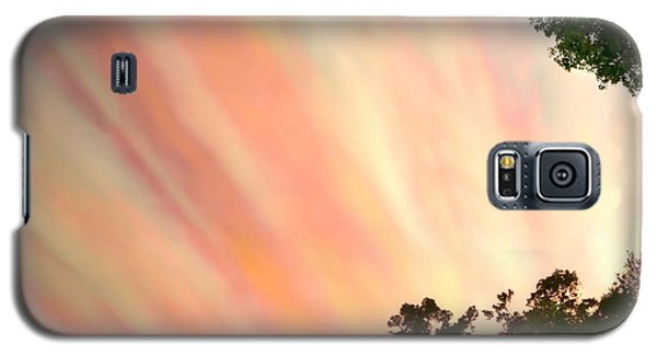Galaxy S5 Case featuring the photograph Cloud Streams by Charlotte Schafer