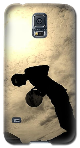 Galaxy S5 Case featuring the photograph Cloudburn by Maria  Disley