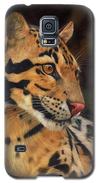 Clouded Leopard Galaxy S5 Case by David Stribbling