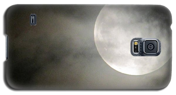 Clouded Moon Galaxy S5 Case