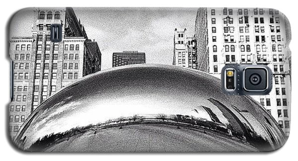 Place Galaxy S5 Case - Chicago Bean Cloud Gate Photo by Paul Velgos