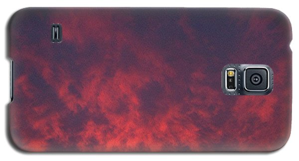 Clouds Ablaze Galaxy S5 Case